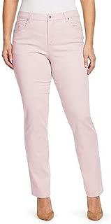 Gloria Vanderbilt Women's Plus Size Amanda-Classic Straight Leg Jean, Scottsdale Wash