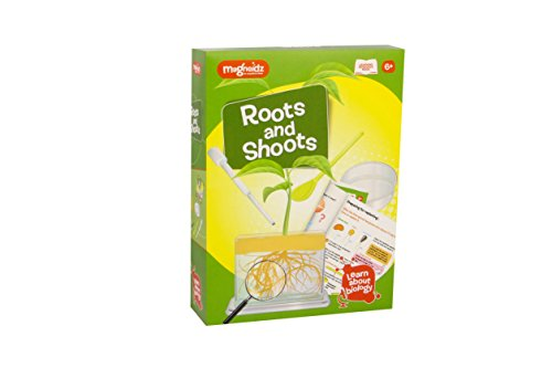 shoots MAGNOIDZ Labs Roots and Shoots Science Kit for Kids