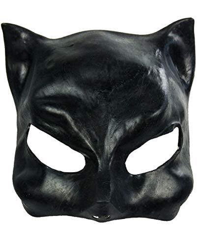 Halloween Karneval Party Kostüm Catwoman Latex Halbmaske für Erwachsene