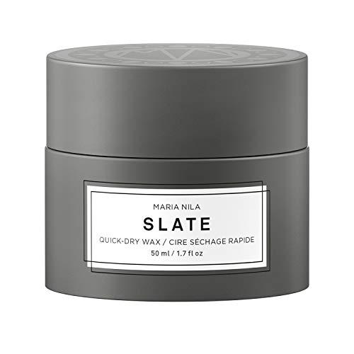 Maria Nila Minerals - Slate Quick-Dry Wax 50ml | Ein schnell trocknendes Haarwachs für starken Halt
