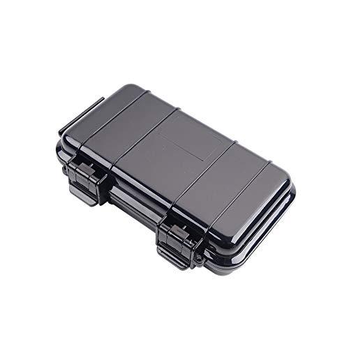 Abs Sigillato Impermeabile Custodia Impermeabile Dry Box Antiurto Esterni Trasporto Protettivo Storage Case Style-un Contenitore Nero 1pc