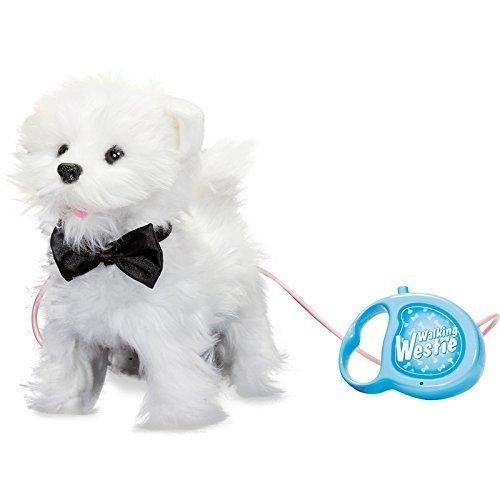 Tobar 17971 Hardloop- en bellende Welpe-West Highland White Terrier (hond met functie/afstandsbediening)