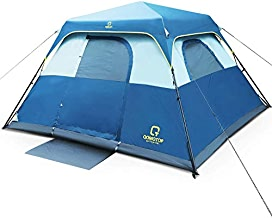 QOMOTOP Cabin Tent, Camping Tent 4 People with Instant...