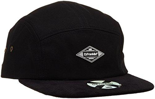 D. Franklin Unisex Gikasna107 Baseball Cap, Schwarz (Negro), One Size (Herstellergröße: Única)