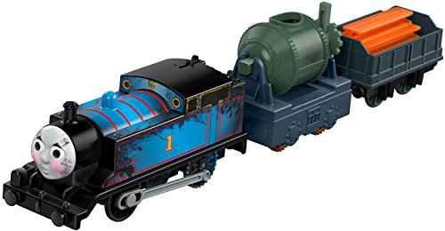 Fisher-Price Thomas & Friends TrackMaster, Greatest Moments Engines w/Tray, Steelworks Thomas -  Fisher Price, FWV84