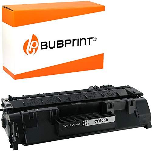 Bubprint Negro Toner Compatible con HP CE505A CE 505A