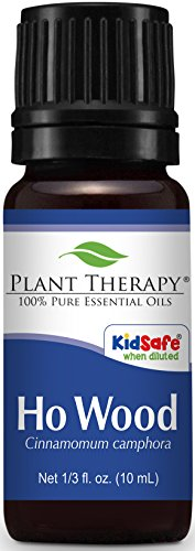 Plant Therapy Ho Wood Essential Oil 10 mL (1/3 oz) 100% Pure, Undiluted, Therapeutic Grade