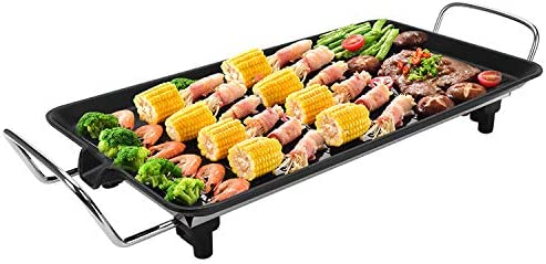 Apstour Electric Grill Smokeless 2-in-1 Indoor Mesa Mall Gr Max 78% OFF
