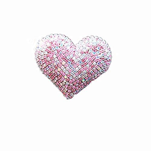 DC CLOUD Parfüm-Clip Broadcast-Wind-Clip Duft Air Outlet Medaillon-parfüm-Clip Ornament Nützlicher Neuer Indoor Autozubehör Süßer Parfüm pink