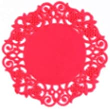 Hollow Silicone Plastic Round Coaster Placemats Decor Heat Resistant Drink Mat Home Table Tea Coffee Cup Pad 1Pcs
