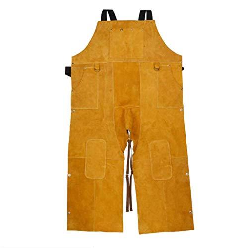 Tubayia Schweißer Latzhose Arbeitshose Arbeitslatzhose Arbeitsbekleidung Schweißerbekleidung