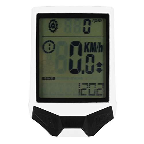NEHARO Cuentakilómetros para Bicicleta Cycling Computer inalámbrico con Sensor de frecuencia cardíaca...