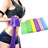 Cinta Elastica Fitness Cintas Elasticas Fitness Bandas Elasticas Musculacion Mujer Cintas Fitness Banda Elastica Bandas De Resistencia Musculacion por Mujer Pilates Nalgas Purple,-