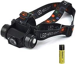 QSCTYG Hoofd Zaklamp Mini IR Sensor Koplamp Inductie Zaklamp USB Oplaadbare Koplamp Waterdichte Camping Hoofd Torch Licht ...