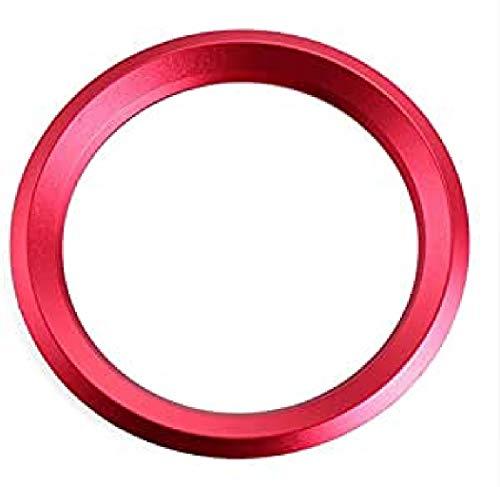 Emblem Trading Emblem Lenkrad Rahmen Rot Für Logo 1er 3er 4er 5er 7er E46 E52 E53 E60 F01 F30 F20 F10 F15 F13 M3 M5 M6 X1 X3 X5 E