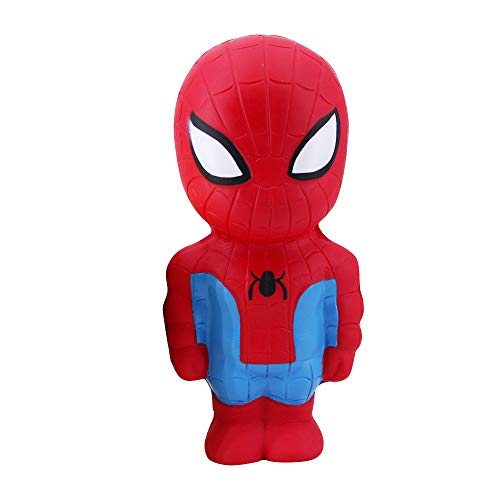 MagicBalls Marvel Hero Series Jumbo Squishy Toys Novelty Stress Relief Toys for Venting and Relaxing (Spiderman Doll)