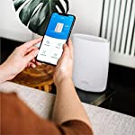 Netgear orbi ultra-performance whole home mesh wifi satellite extender - works with your orbi router to add 2,500 sq… 11 only works with an orbi whole home mesh wifi router. Get the fastest speeds by adding to your rbk50 eliminates wifi dead zones and buffering in hard to reach places, adding 2,500 sq. Feet of coverage to your existing orbi mesh wifi network — with speeds up to 3. 0 gbps single wifi network name lets you move around the house without losing connectivity