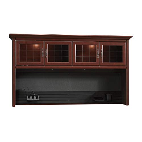 Sauder 109871 Heritage Hill Hutch For 109843/109848, Classic Cherry Finish