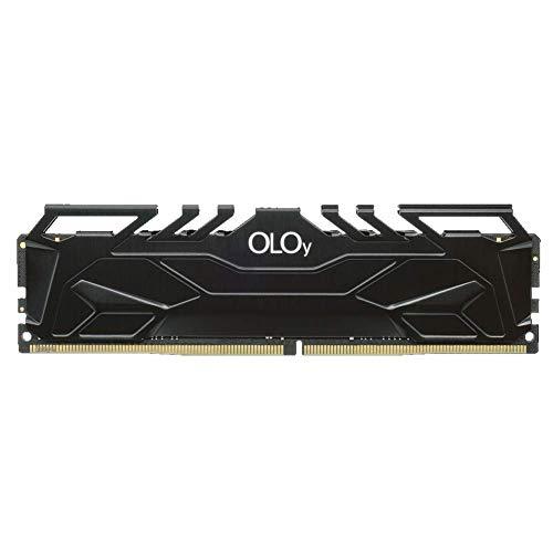OLOy DDR4 RAM 8GB (1x8GB) 3200 MHz CL16 1.35V 288-Pin Desktop Gaming UDIMM (MD4U083216BJSA)
