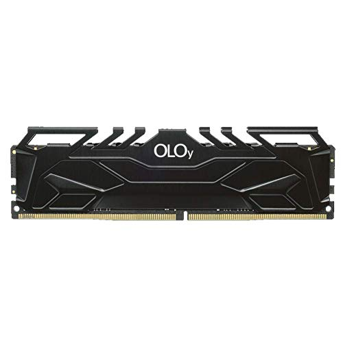 OLOy DDR4 RAM 8GB (1x8GB) 3000 MHz CL16 1.35V 288-Pin Desktop Gaming UDIMM (MD4U083016BJSA)