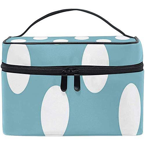 Sac De Maquillage Polka Girls Travel Cosmetic Bag Womens Toiletry Organizer