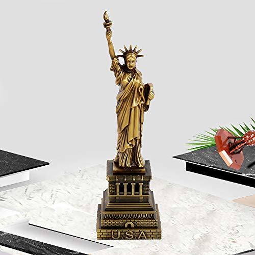 LINDU Statua di American Liberty Mobili in Stile Europeo Mobili in Metallo Mobili Artigianali Mobili retrò, in Rame, 30 cm