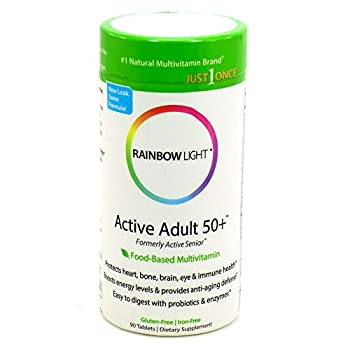 Rainbow Light Multivitamin One Active Senior 90 ct