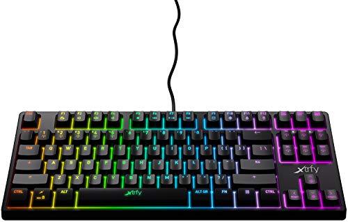 K4 RGB Tenkeyless, Mechanical gaming keyboard with RGB, US