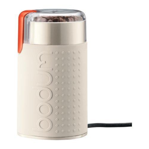 Bodum Bistro 11160-913 elektrische koffiemolen, wit