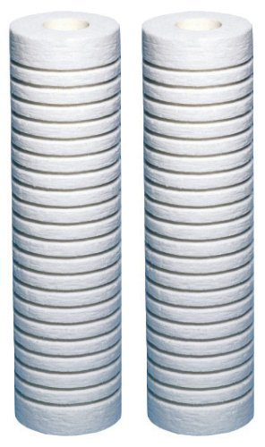 aquapure-ap124–2Stück Universal ganze Haus Filter Ersatz-Kartusche für schwere/Grobe Sediment (2Stück)