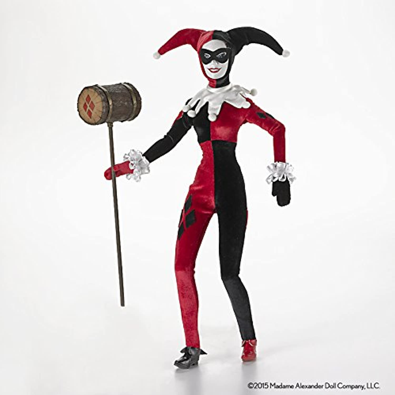 Madame Alexander DC Comics Harley Quinn Doll, 16 by Madame Alexander