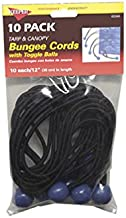 Hampton Products-Keeper 06344 12-inch Bungee Ball Cord, 10 Pack - Aantal 6