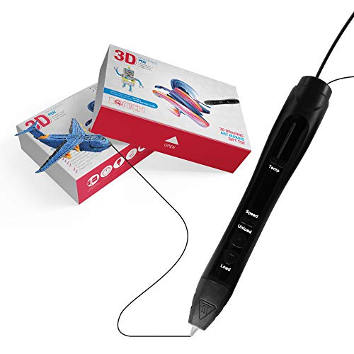 Bonich Penna 3D 2.0 per Adulti e Bambini Filamento PLA Colori Stampa Disegno 3D Display OLED