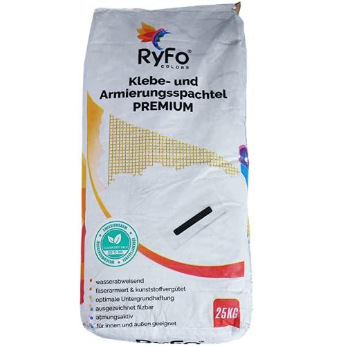RyFo Colors WDVS Klebe- und Armierungsspachtel Premium Weiß 25kg - Klebespachtel, Armierungsmörtel, universelle Armierung für EPS VWS