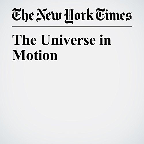 The Universe in Motion copertina