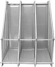 Office Organizer Supplies Metal File Holder Desk Organizer Office File Storage Rack Opslag Planken (Color : White)
