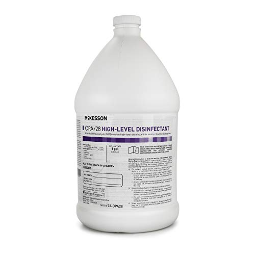 McKesson OPA/28 OPA High-Level Disinfectant 1 gal. Chemical Scent 1 Ct