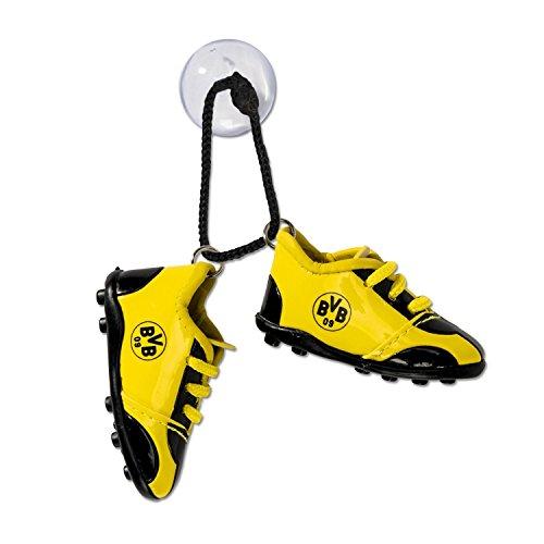 Borussia Dortmund Autoschuhe, Autospiegel Fussball Schuhe fürs Auto BVB 09 (L)