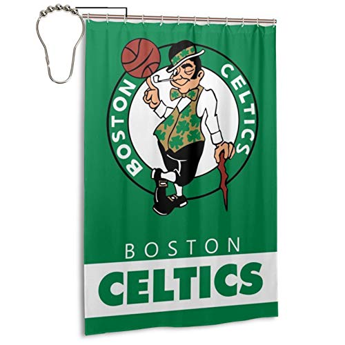 LOCPM LICOPC Boston_Celtics High Temperature Resistance, No Deformation Under High Temperature, Opaque Privacy Shower Curtain (48x72 Inch)