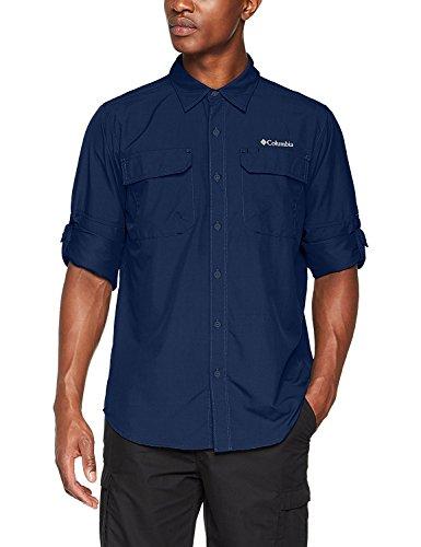 Columbia Silver Ridge™ II Long Sleeve Shirt Carbon 3X