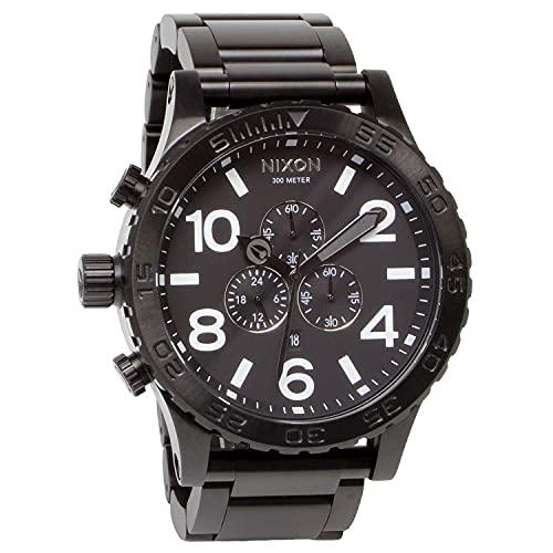 [ニクソン] NIXON 腕時計 51-30 CHRONO: ALL BLACK A083-001-00 メンズ [並行輸入品]