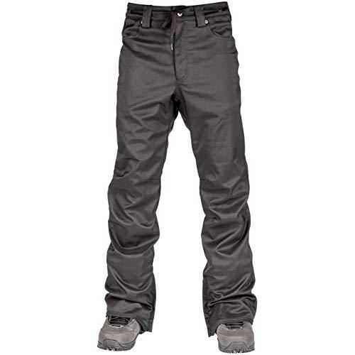 L1 Premium Goods Skinny Twill Broek, heren, Zwart, M