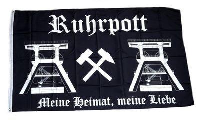 Fahne/Flagge Ruhrpott NEU 90 x 150 cm