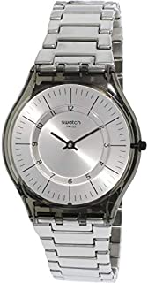 Swatch Skin Metalmix Grey Dial Stainless Steel Unisex Watch SFM134G