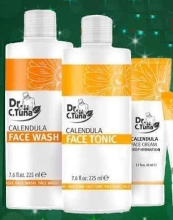 Farmasi- Dr Tuna -calendula facial Super sale kit- Recommended treatment products 3
