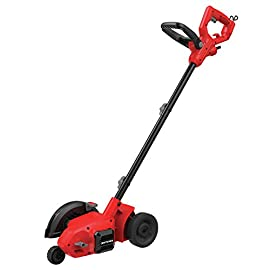 CRAFTSMAN Edger, 3-Blade Settings, 12-Amp (CMEED400) , Red 1 12 Amp high torque motor cuts through tough turf Adjustable auxiliary handle provides comfort and control Line cutting guide provides precision and control while edging along hard surfaces or trenching around borders