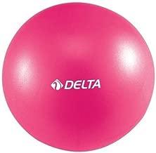 Delta Elite Ds Pilates Egzersiz Topu 20 cm, Koyu Pembe