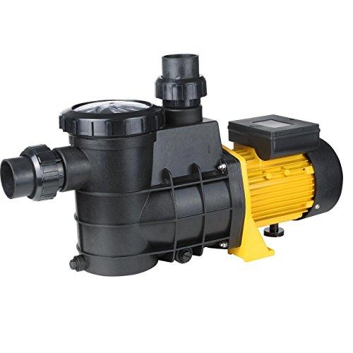 Bc-elec HZS-550 Schwimmbadpumpe mit Filter 13000 l/h 550W