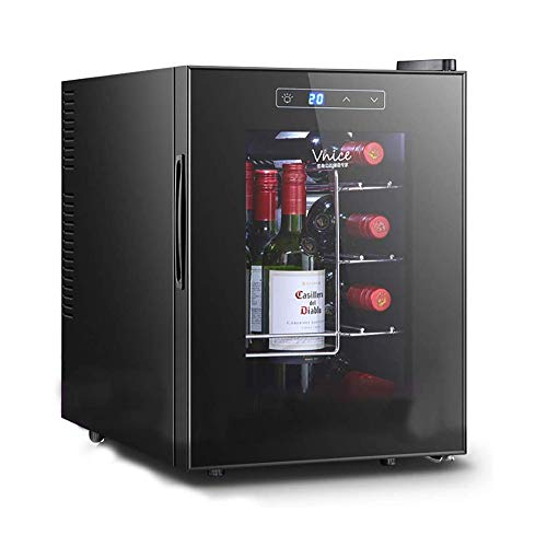 Great Deal! NILINBA Mini Wine Cooler, Chiller, Constant Temperature and Humidity, Beverage Cooler, S...