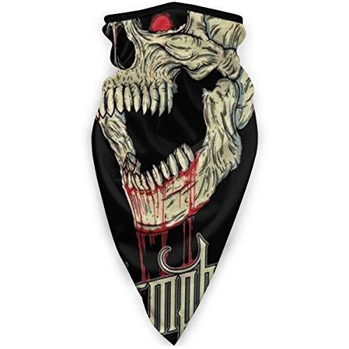 Tzshak Balaclavas Skull Red Memphis May Fire Face Shield - Cache-Cou Polyvalent, écharpe extérieure Cache-Cou Bandana Balaclava Headwear